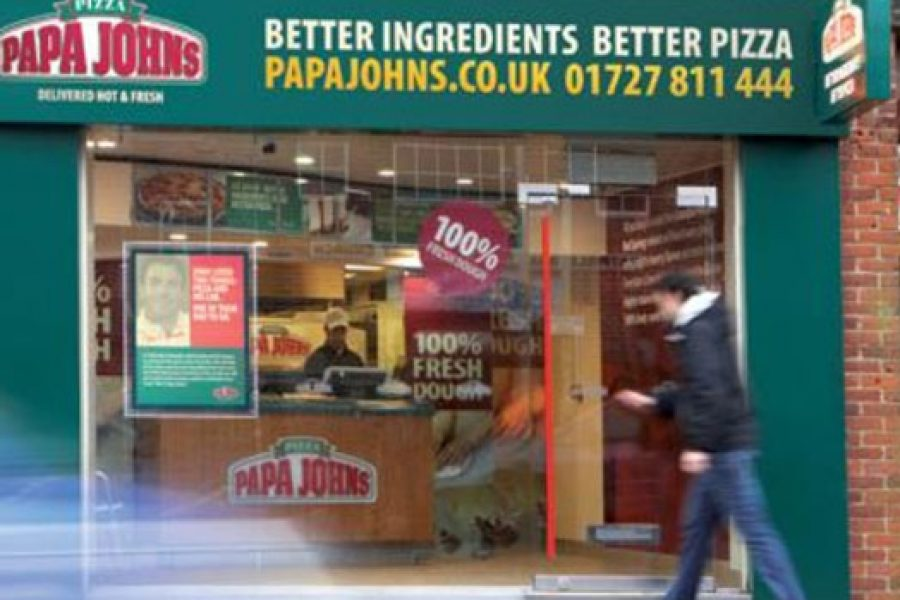 Papa John's – Bedfordshire and London