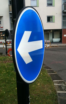 LED Road Signs – London