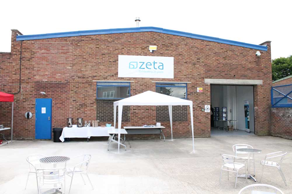 Yard at the Zeta Open Day 2014