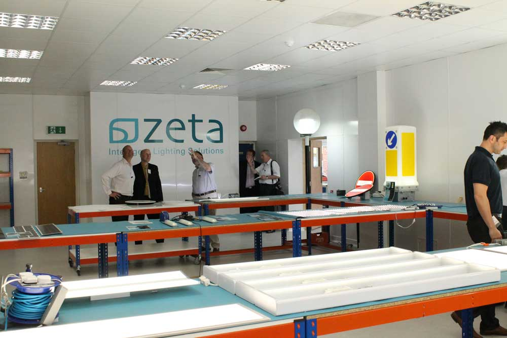 Showcasing the updated production facilities at Zeta's 2014 Open Day