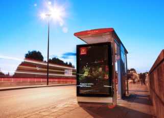 Clear Channel UK launches its first solar-powered advertising bus shelter in London