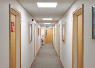 Zeta Specialist Lighting helps enhance serviced office building
