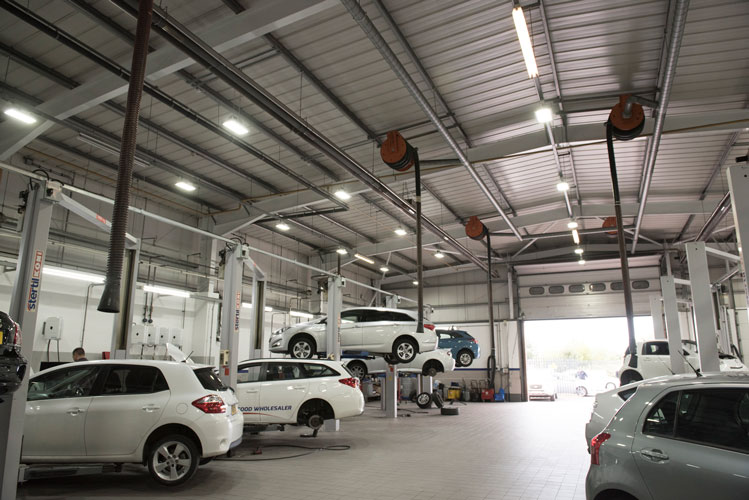 LED solution delivers cost and carbon savings for Vantage Toyota, Preston