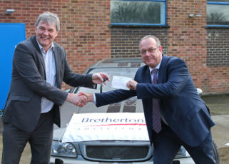 Brethertons bags a bargain for Twin Town Challenge