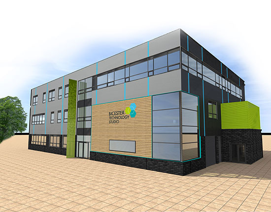 Zeta Partners Bicester Technology Studio