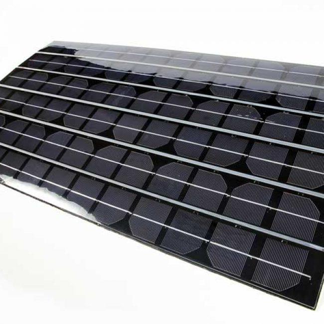 Zeta Flexible PV Panels landscape