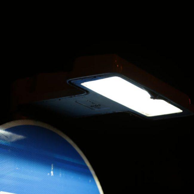 Zeta SignLite LED Blade in Nottingham head unit view