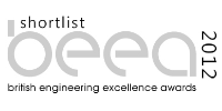 British Engineering Excellence Awards 2012 shortlisted b/w