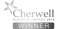 Cherwell Business Awards 2015 winner b/w