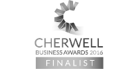 Cherwell Business Awards 2016 finalist b/w