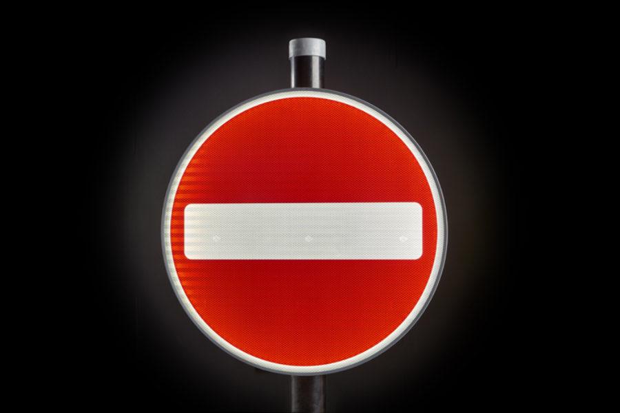 Zeta LED Road Sign