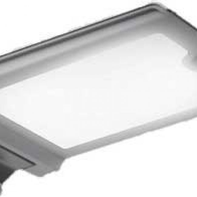 Zeta Wall Mounted Solar LED Light lit