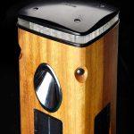 SmartScape Solar Bollard hardwood top unlit