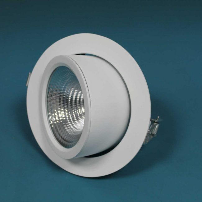 Zeta LED Directional Spotlight top view