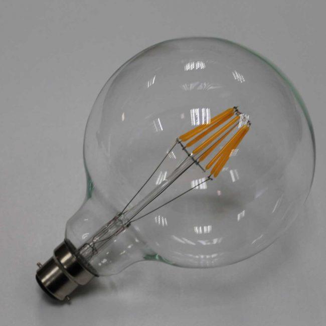 Zeta Globe LED Lamp side view