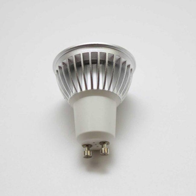 Zeta GU10 LED Lamp back view