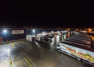 LED lighting helps Bidvest Foodservice make operational areas safer