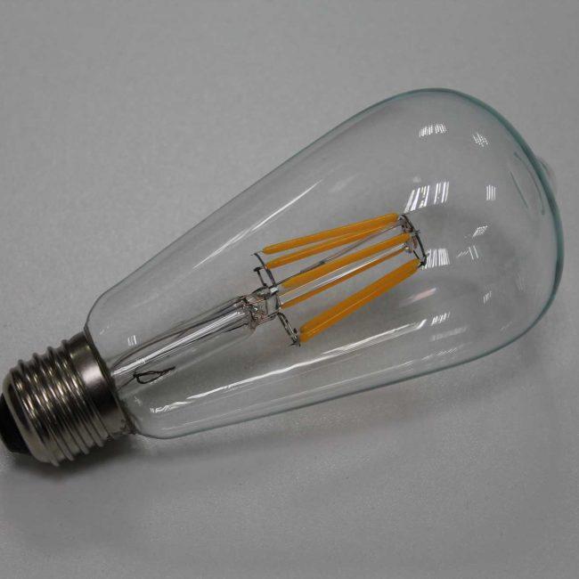 Zeta Teardrop LED Lamp side view