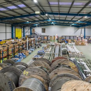 Bouygues Energies & Services upgrades lighting in its Hatfield warehouse with Zeta LED's