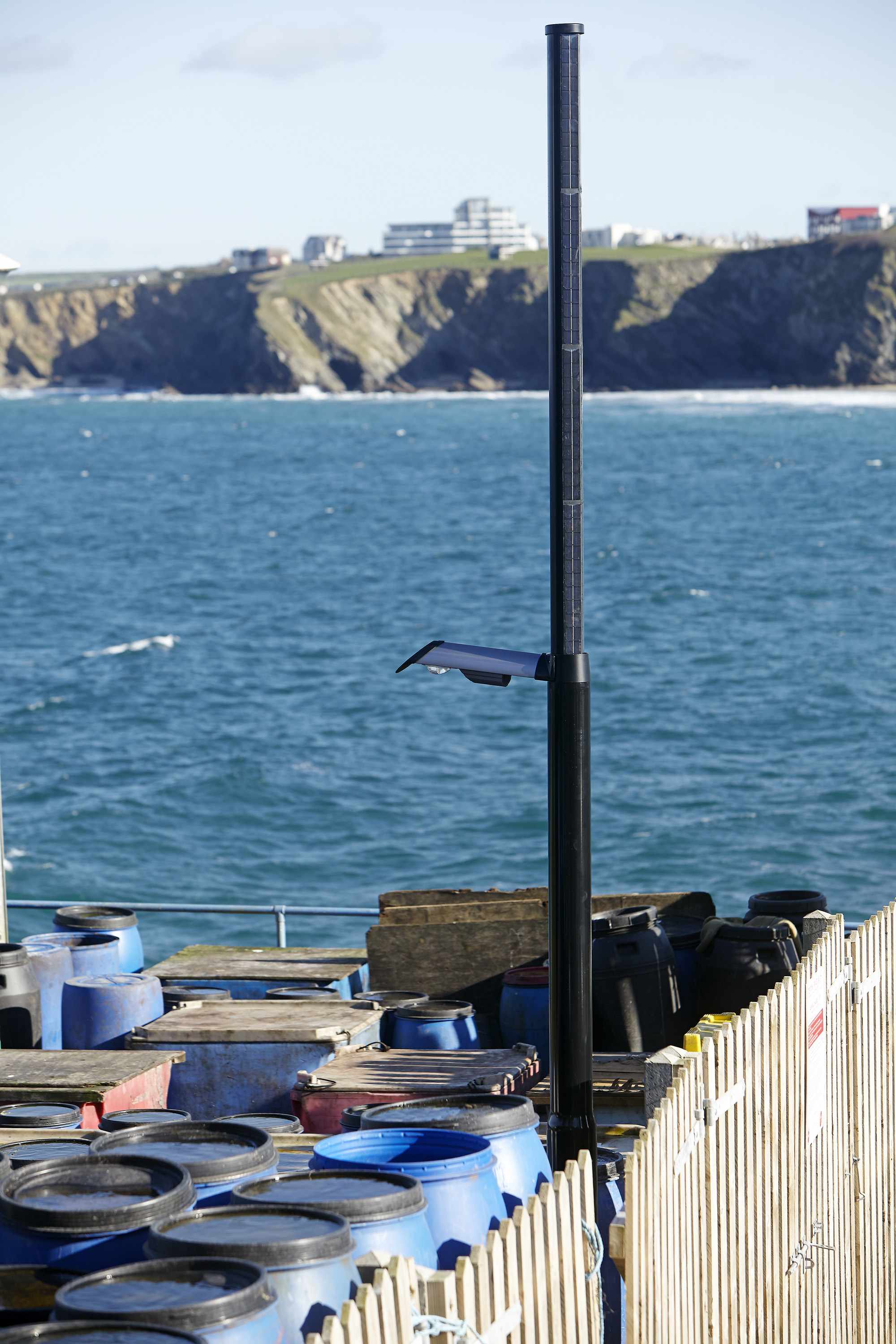Zeta creates bespoke solar-powered LED luminaires for Cornwall Council