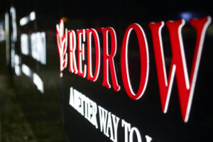 Zeta LGP illuminate Redrow hoardings in Luton