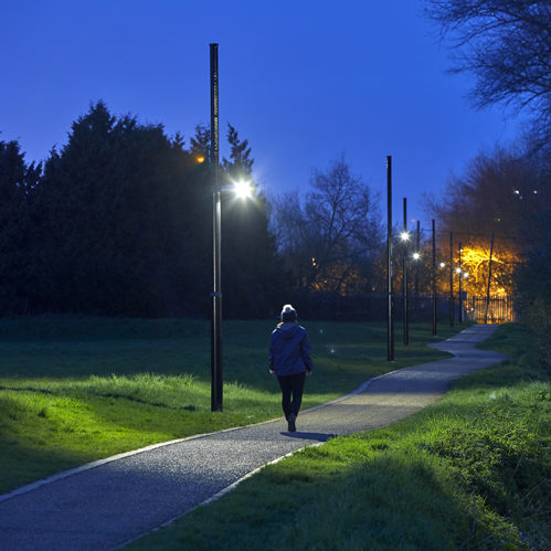 Oxford Science Park - Wayfinding lighting