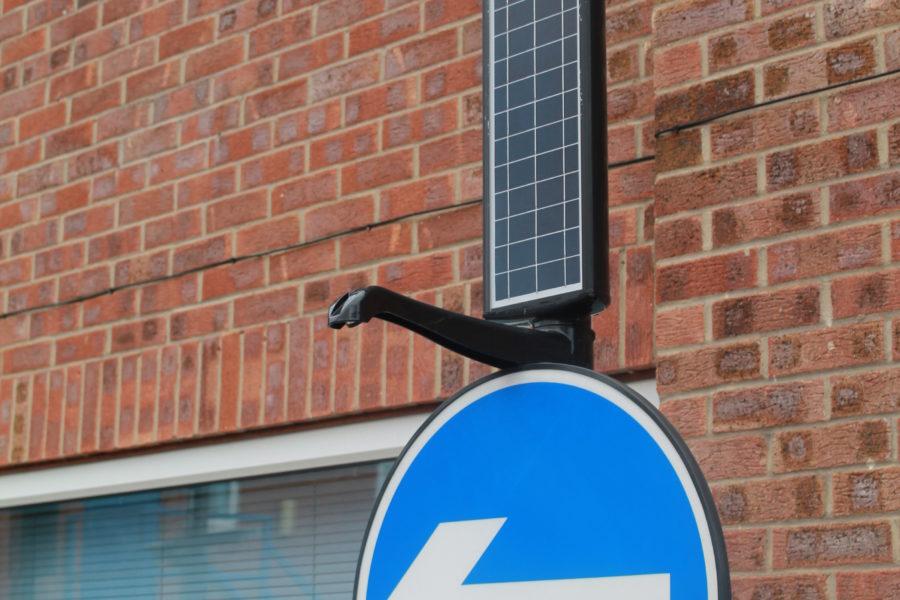 Zeta Solar LED Lighting Arm