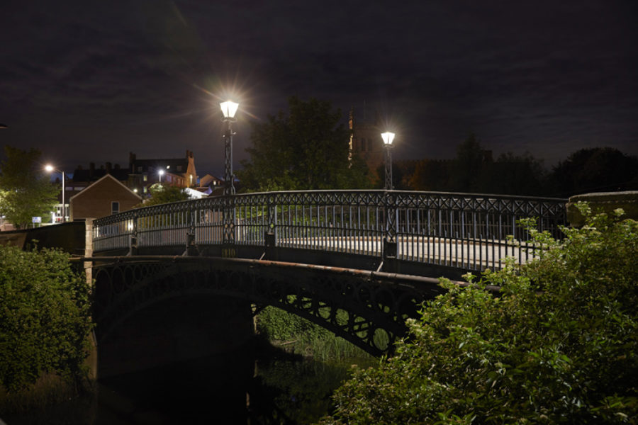 Zeta's SmartScape Heritage lights up Tickford Bridge