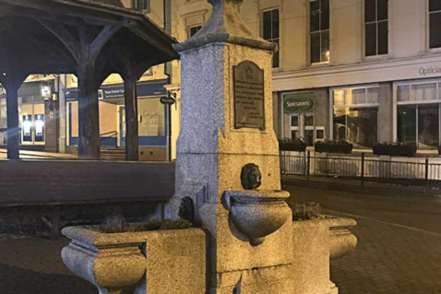 Zeta lights up focal point in North Walsham town centre