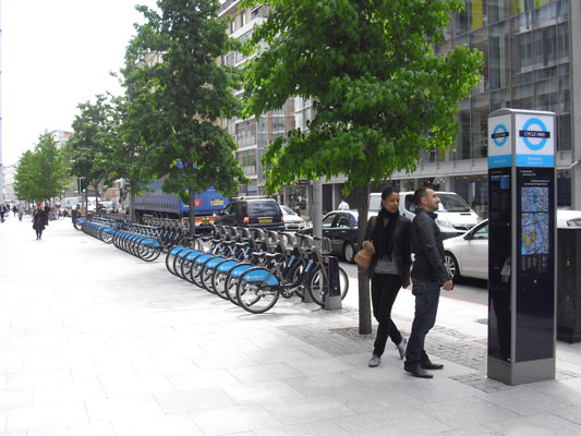 Transport for London Cycle Hire Scheme – London