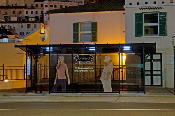 Zeta Solar Shelter Lighting Kit in Gibraltar shelter front