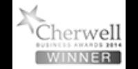 Cherwell Business Awards 2014 winner b/w