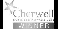 Cherwell Business Awards 2015 winner b/w