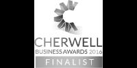 Cherwell Business Awards 2016 finalist b/w