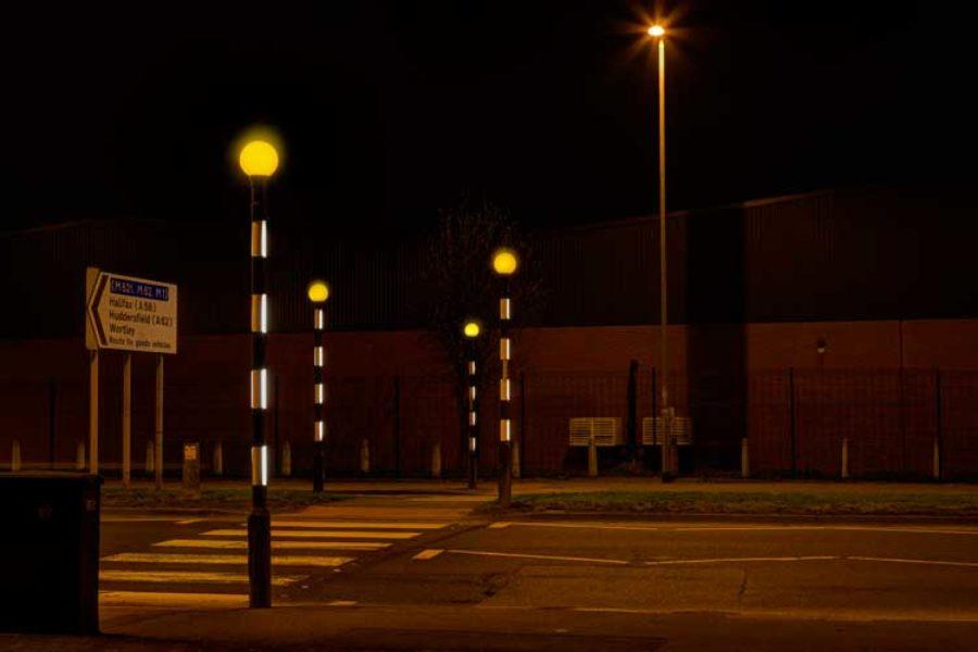 Zeta LED Belisha Pole Illumination Kit