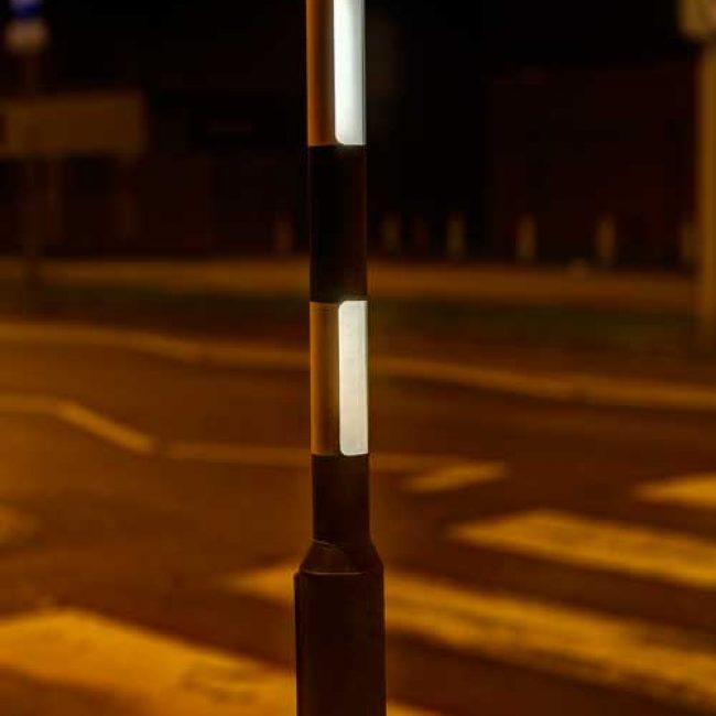 Zeta LED Belisha Pole Illumination Kit 2 windows lit