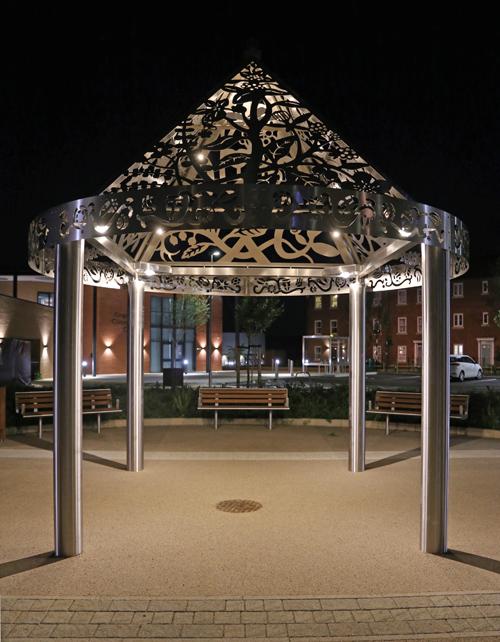 Zeta LEDs light up art installations